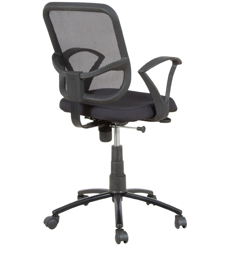 Buy Ergonomic Mesh Backrest Office Chair With Push Back
