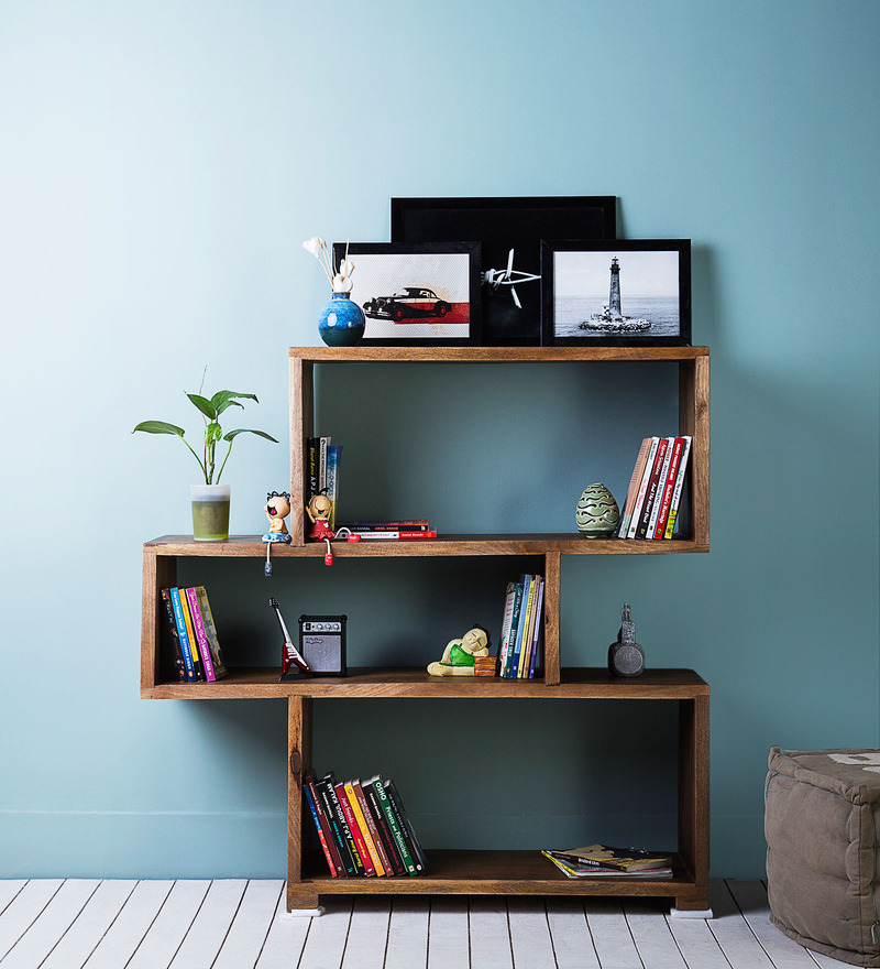 Waterford Book Shelf in Provincial Teak Finish by Woodsworth