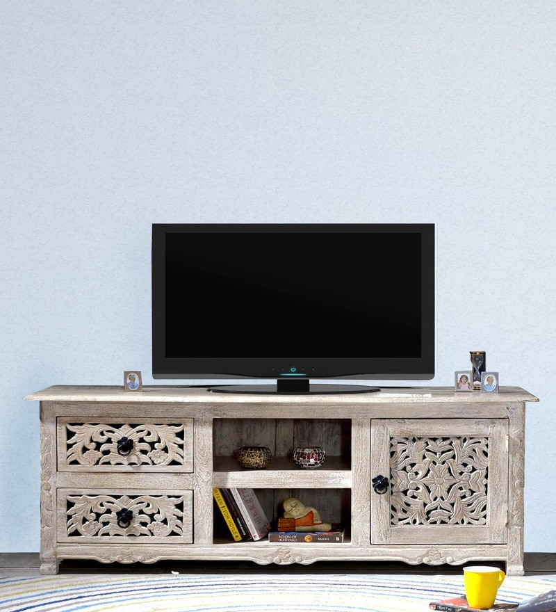 Erykah Entertainment Unit in Distress Finish by Bohemiana