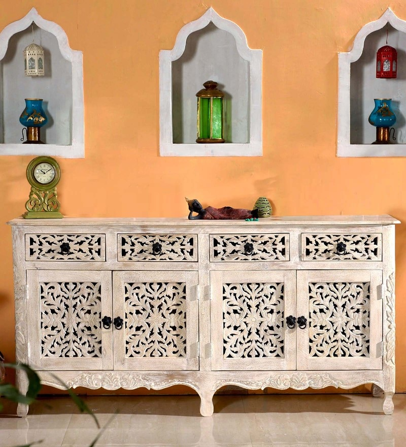 Erykah Sideboard in Distress Finish by Bohemiana