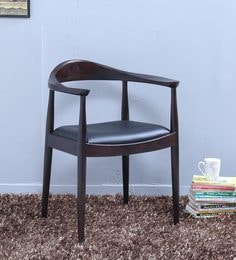 Esvelt Arm Chair In Warm Chestnut Finish