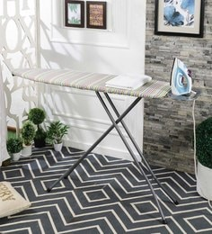 Eurostar Candy Stripe Design Mild Steel Foldable Emperor Ironing Board