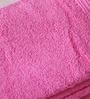 Eurospa Samp Pink Cotton Hand Towel - Set of 4
