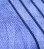 Eurospa Velour Blue Cotton Bath Towel