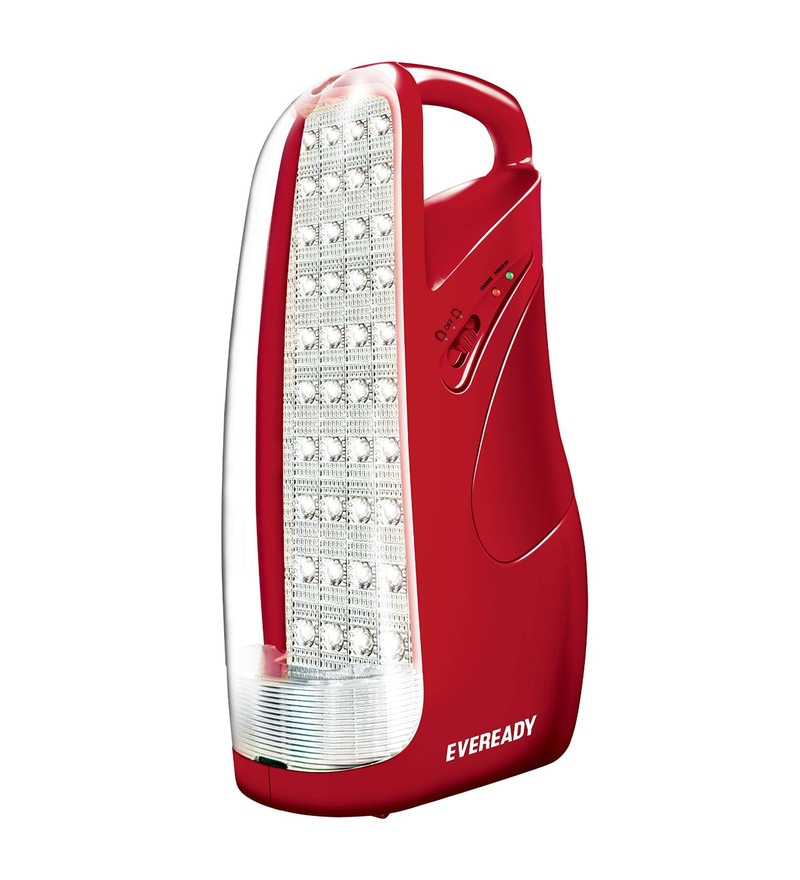 Eveready HL51 Red Rechargeable Emergency Light