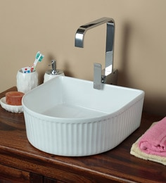 Exor 1077 Ceramic Table Top Designer Wash Basin
