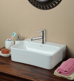 Exor 3030 Ceramic Wall Mounted Wash Basin