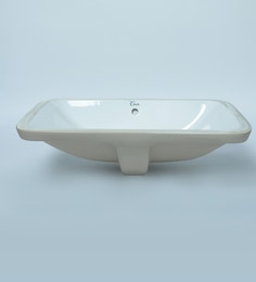 Exor 3076 Ceramic Undercounted Wash Basin