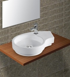 Exor White Ceramic Wash Basin (Model: 3062)