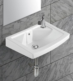 Exor White Ceramic Wash Basin (Model: 3068)