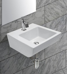 Exor White Ceramic Wash Basin (Model: 3072)