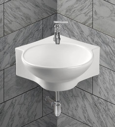 Exor White Ceramic Wash Basin (Model: 3073)