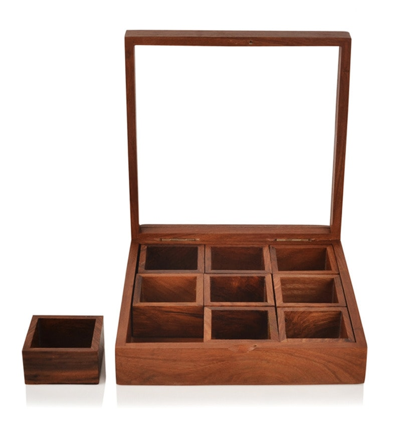 Buy Exclusive Lane Wood Spice Box Online Spice Storage