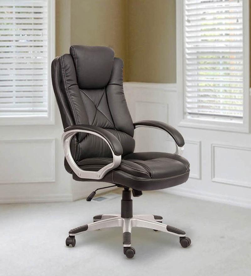 Executive Chair in Black Colour by Parin