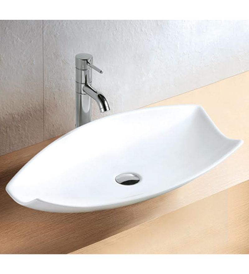Exor White Ceramic Wash Basin (Model: 1059)