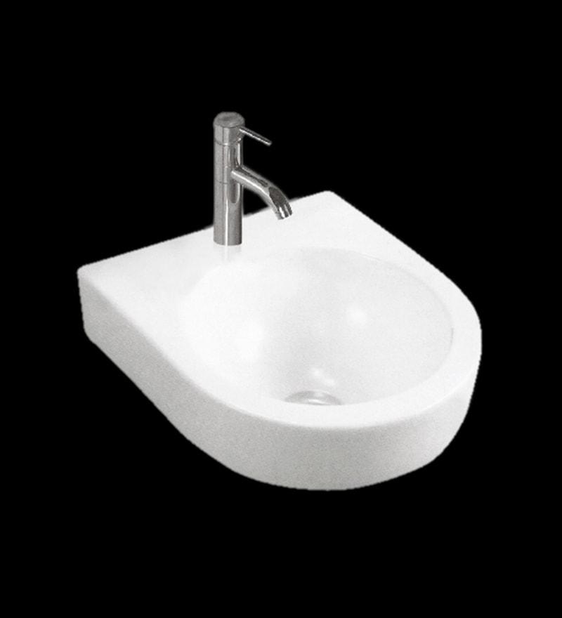 Exor White Ceramic Wash Basin (Model: 3028)