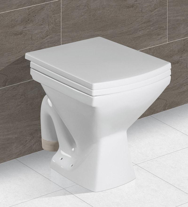 Exor White Ceramic Water Closet (Model: 4045)