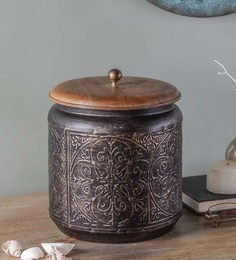Fabuliv Paulsen Vintage Metallic Copper Storage Box