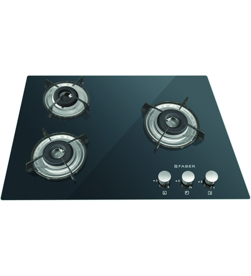 GST RELIEF DEAL - ADDITIONAL 5% OFF :: FABER 3 Burner Manual Ignition Built-In Hob-Cooktop Hybrid (HCT-653-CRR-LBK-EI-NA)