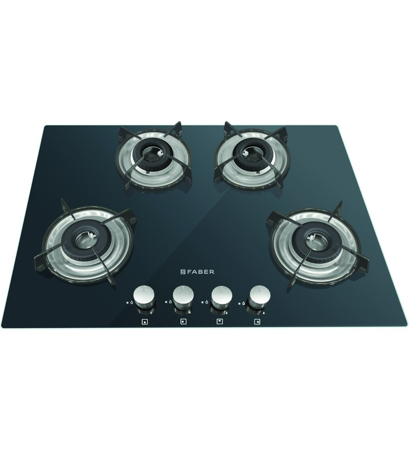 GST RELIEF DEAL - ADDITIONAL 5% OFF :: FABER 4 Burner Manual Ignition Built-In Hob-Cooktop Hybrid (HCT-654-CRR-LBK-EI-NA)