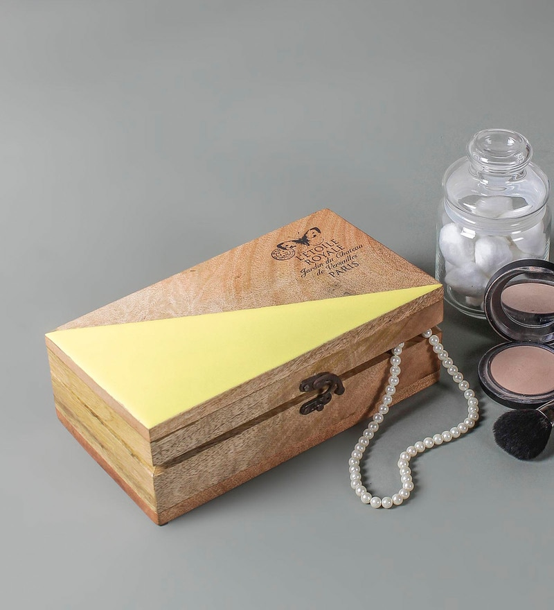 747fa12913c Buy Crystal Golden Jewellery Box by Homesake Online - Trinket Boxes ...