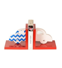 FLYFROG KIDS Car Red Wood And MDF Bookend