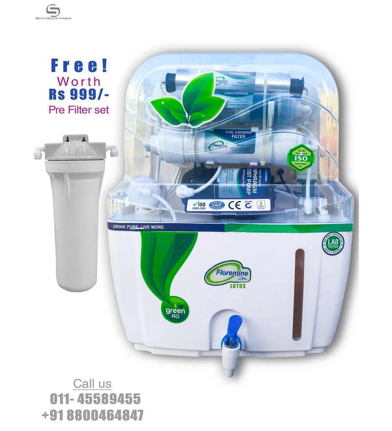 Florentine Homes Lotus 12 L RO + UV + UF Water Purifier