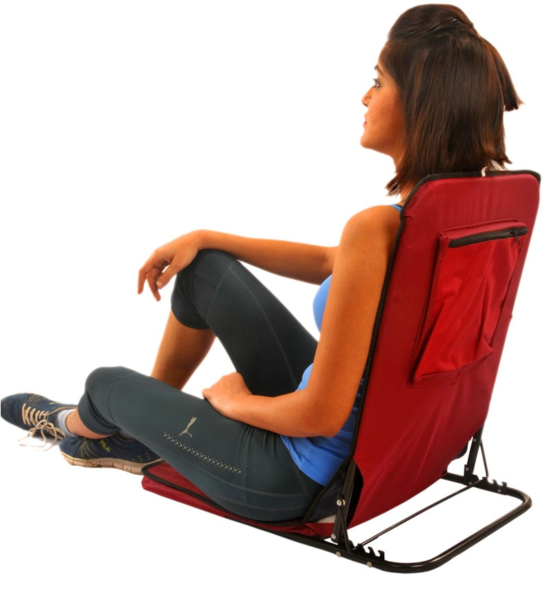 Buy Folding Floor Cum Yoga Picnic Camping Meditation Chair