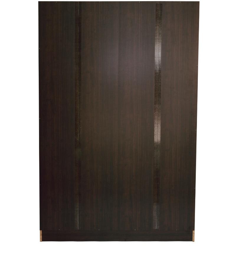 Buy Takuma Four Door Wardrobe In Wenge Finish By Mintwud