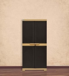 Freedom Medium Cabinet In Brown Colour