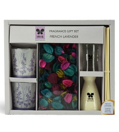 French Lavender Fragrance Gift Set With Potpourri