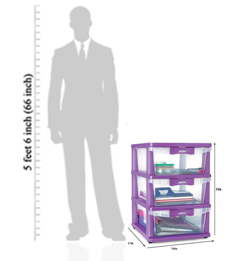 Buy Freedom Chester 23 Organiser In Translucent Color By