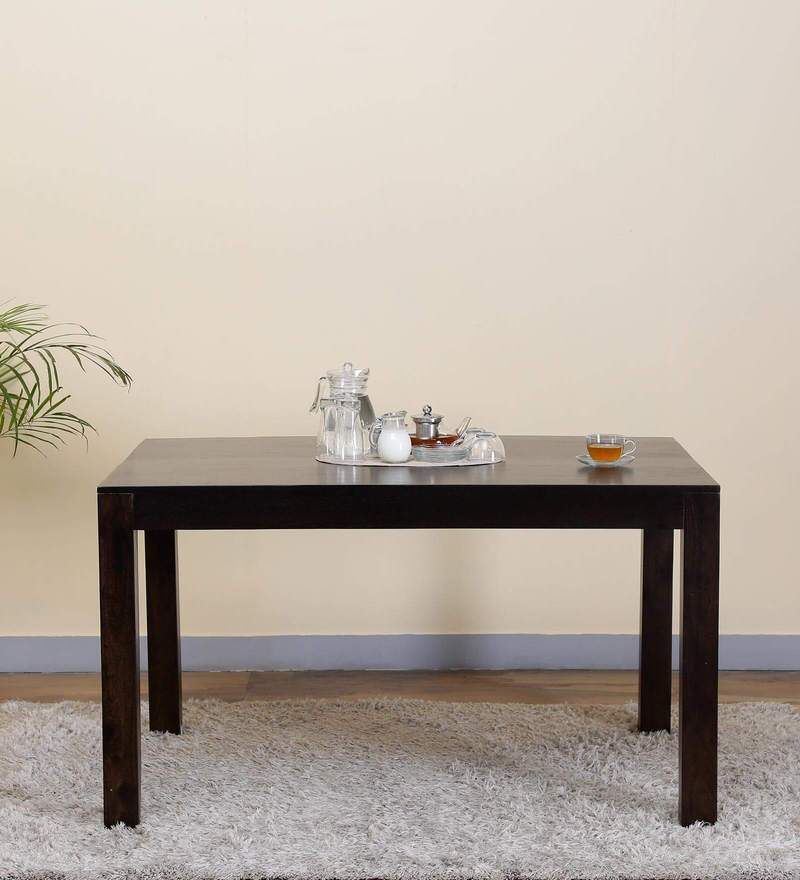Freemont Six Seater Dining Table in Warm Chestnut Finish by Woodsworth