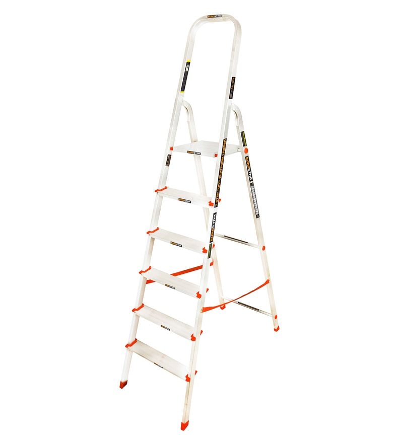 Freiheit Skytech Aluminium 6 Steps 6 FT Ladder