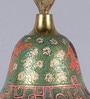 Frestol Green Brass Mandir Bell with Chain