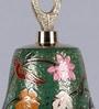 Frestol Green Brass Mandir Bell with Chain