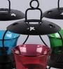 Frestol Multicolour Iron Tea Light Holder - Set of 3