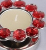 Frestol Red Steel Tea Light Holder