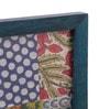 Furnicheer Turquoise Mango Wood 8 x 0.5 x 6 Inch Photo Frame