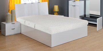 Gloria Queen Size Pocket Spring Mattress In White Colour