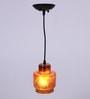 Bronze Glass Pendant by Glowbox