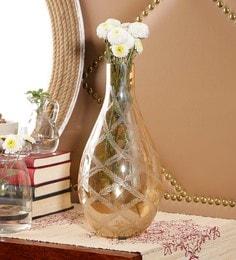 Gold Gl Ewer Etched Re Vases