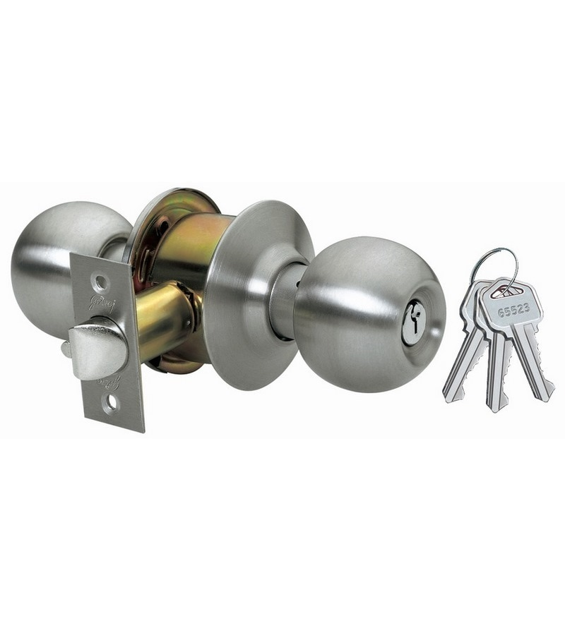 Godrej Locking Solutions Cylindrical  Iron Outside Opening Door Bolt Lock