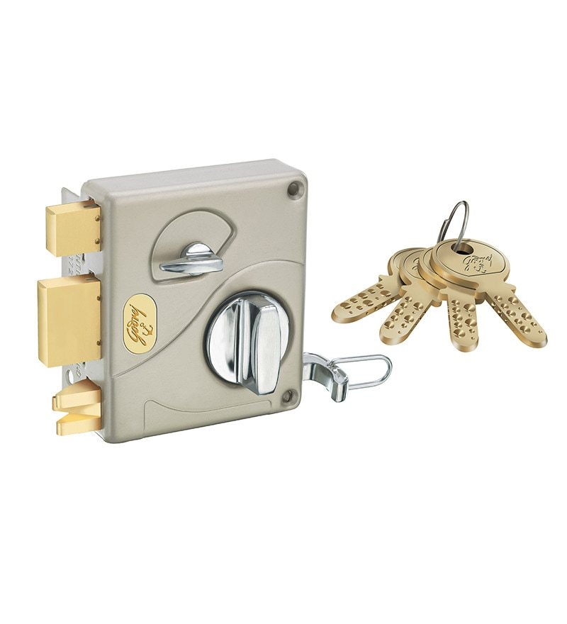 Godrej Locking Solutions Ultra Tribolt Brass Inside Opening Door Bolt Lock