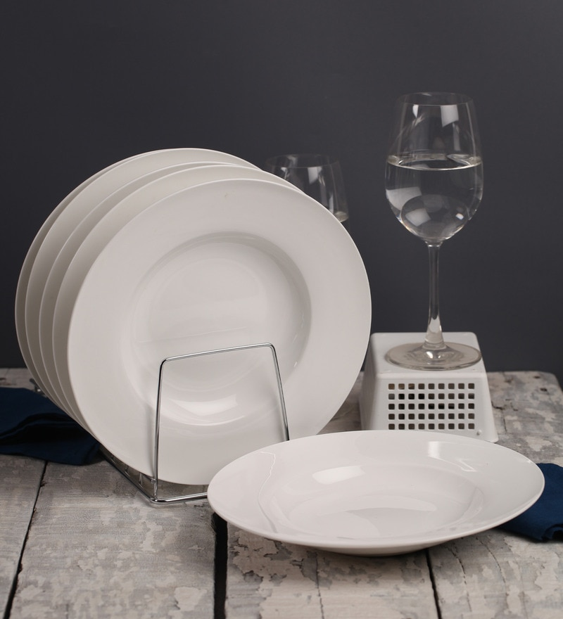 Godskitchen Large Pasta Plate - Set of Six