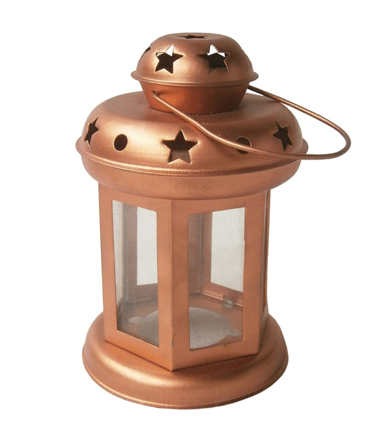 Copper Iron Diwali Lantern by Gol Maal Shop