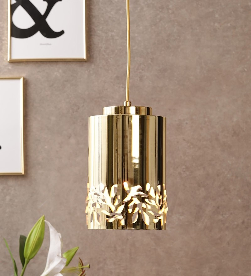 Gold Iron Pendants by Jainsons Emporio