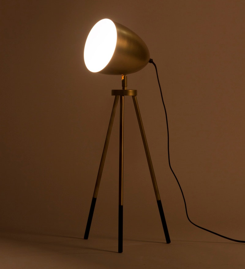 Gold Iron Rhea Table Lamp by Orange Tree