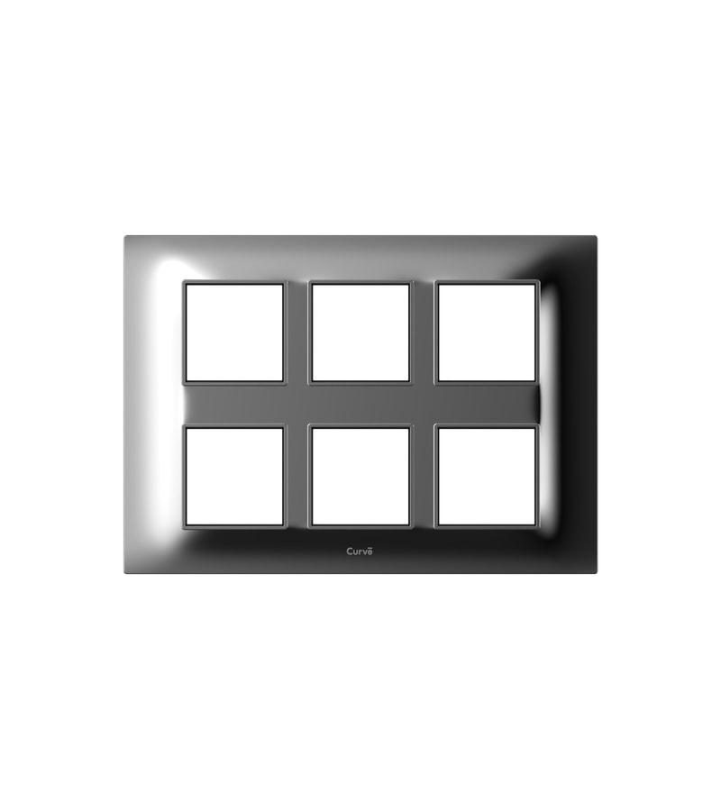 Goldmedal Glassio Chrome Cover Plate (Model: 121204H.Ch)