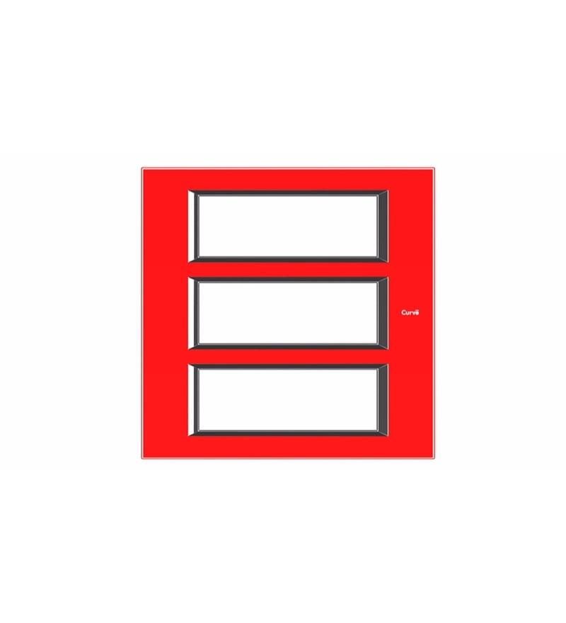 Goldmedal Quorra Premium Hot Red Cover Plate (Model: 51801Ph.Rd)